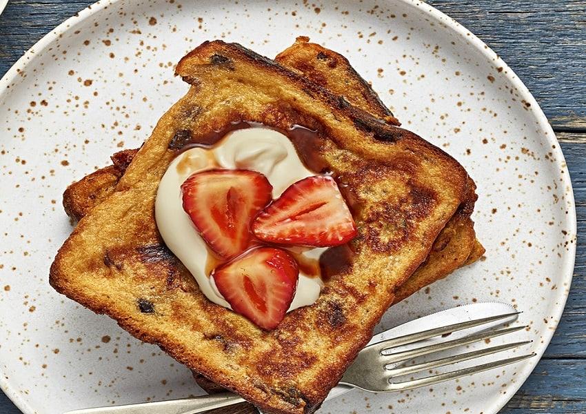 French Fruit Toast