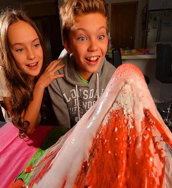 Bi-Carb Soda fun for the kids