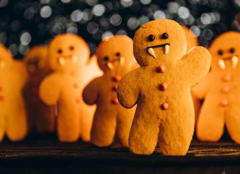 vampire gingerbread