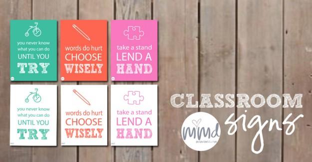 motivational monday Classroom Signs  Mama Miss
