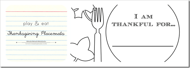 Turkey Thankful Coloring Page
