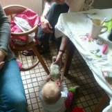 """""""Katzenübergabe"""" von Oma"""