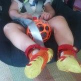 """zum Einkaufen wurden die Schuhe das erste Mal """"entführt"""" :)"""