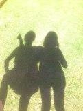 ... und hier mit Cousine :-*