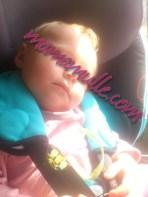 Unterwegs im Reboarder schlafen