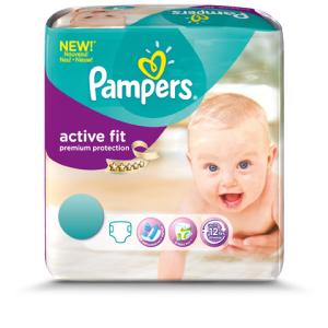 Pampers Windel neu