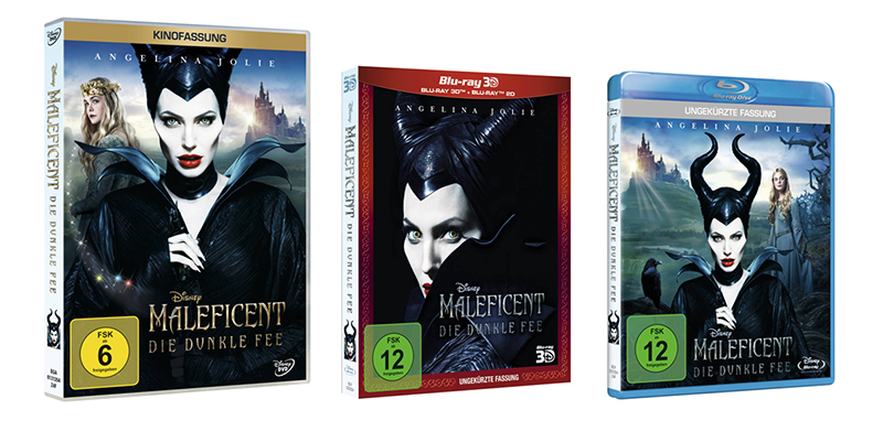 MALEFICENT_Editionen-gesamt