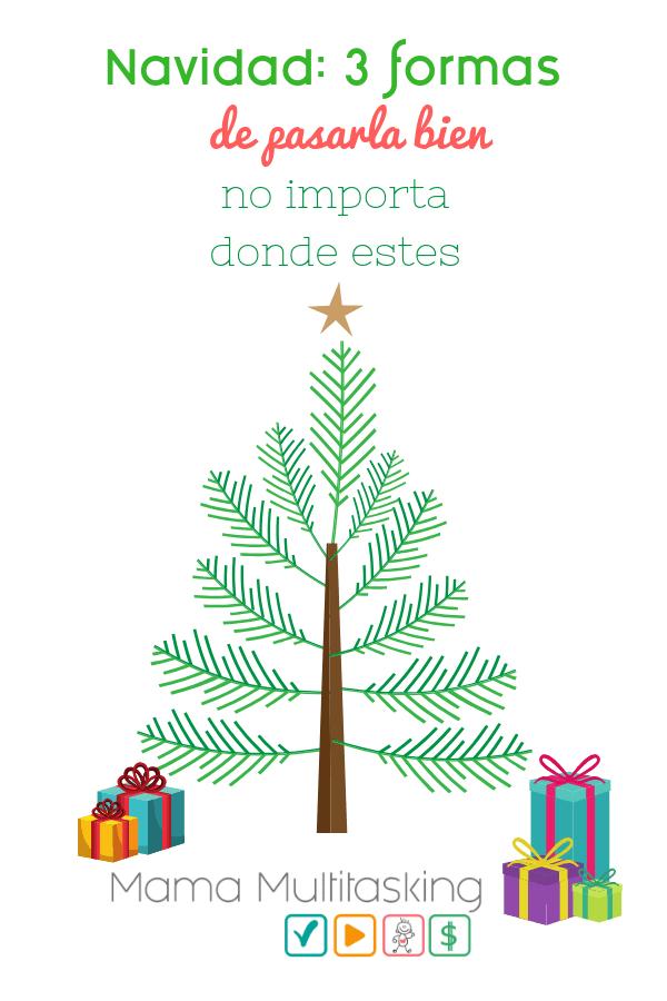 Navidad: 3 formas de pasarla bien no importa donde estes