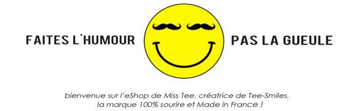 Tee smiles, t-shirts personnalisés