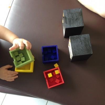 DIY Boîtes à couleurs