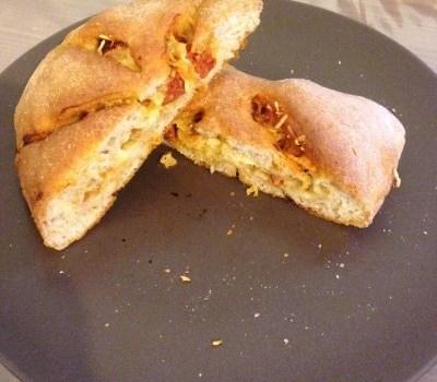 Fougasse chorizo mozzarella