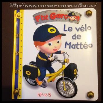 Le vélo de Mattéo, nouveauté Fleurus