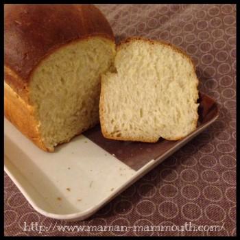 pain de mie bien moelleux