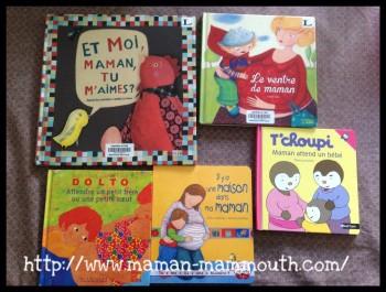 Des livres pour préparer l'arrivée de bébé
