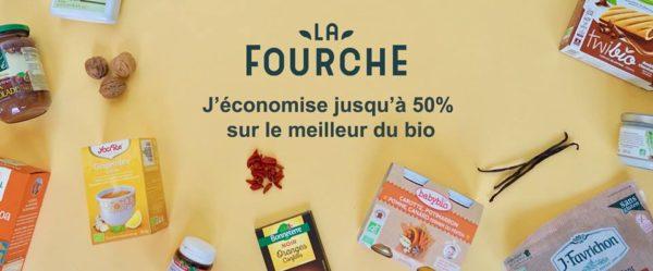 La Fourche, vos courses bio jusqu'à -50%