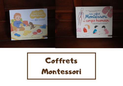 Coffrets Montessori aux éditions Nathan