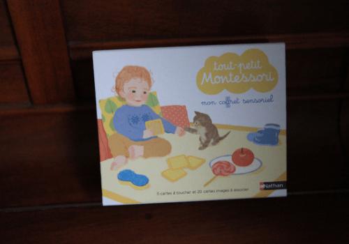 Mon coffret sensoriel Montessori