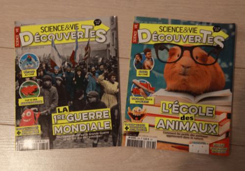 Magazine Science & Vie Découverte