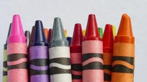 crayons de cire recyclage