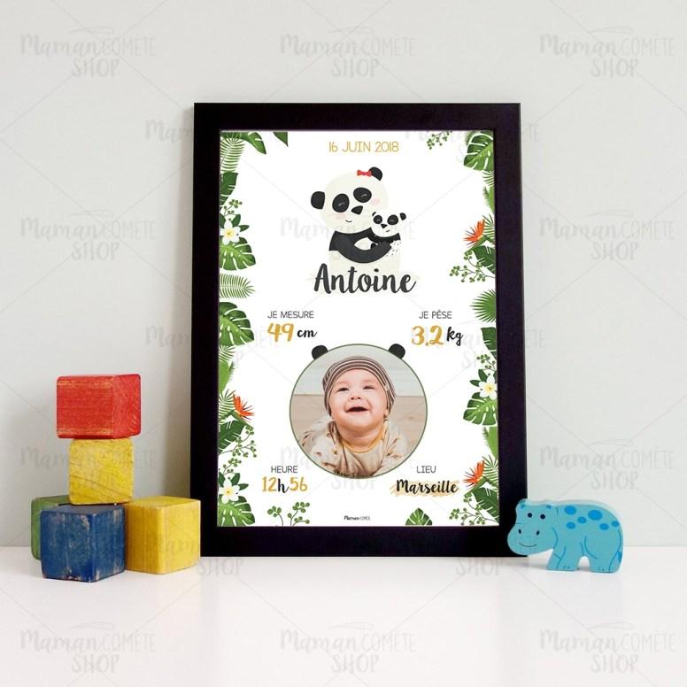 affiche_personnalisee-naissance-cadre-idee-cadeau-offrir-bebe-panda-3