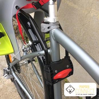 Fixation siège vélo