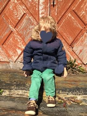 Manteau Himmy Tape à l'oeil