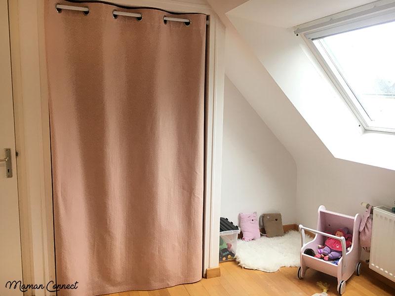 une jolie chambre scandinave fille