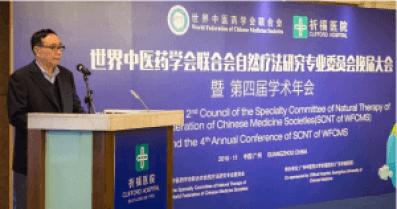 Речь профессора Пэн Линьцзи на церемонии открытия