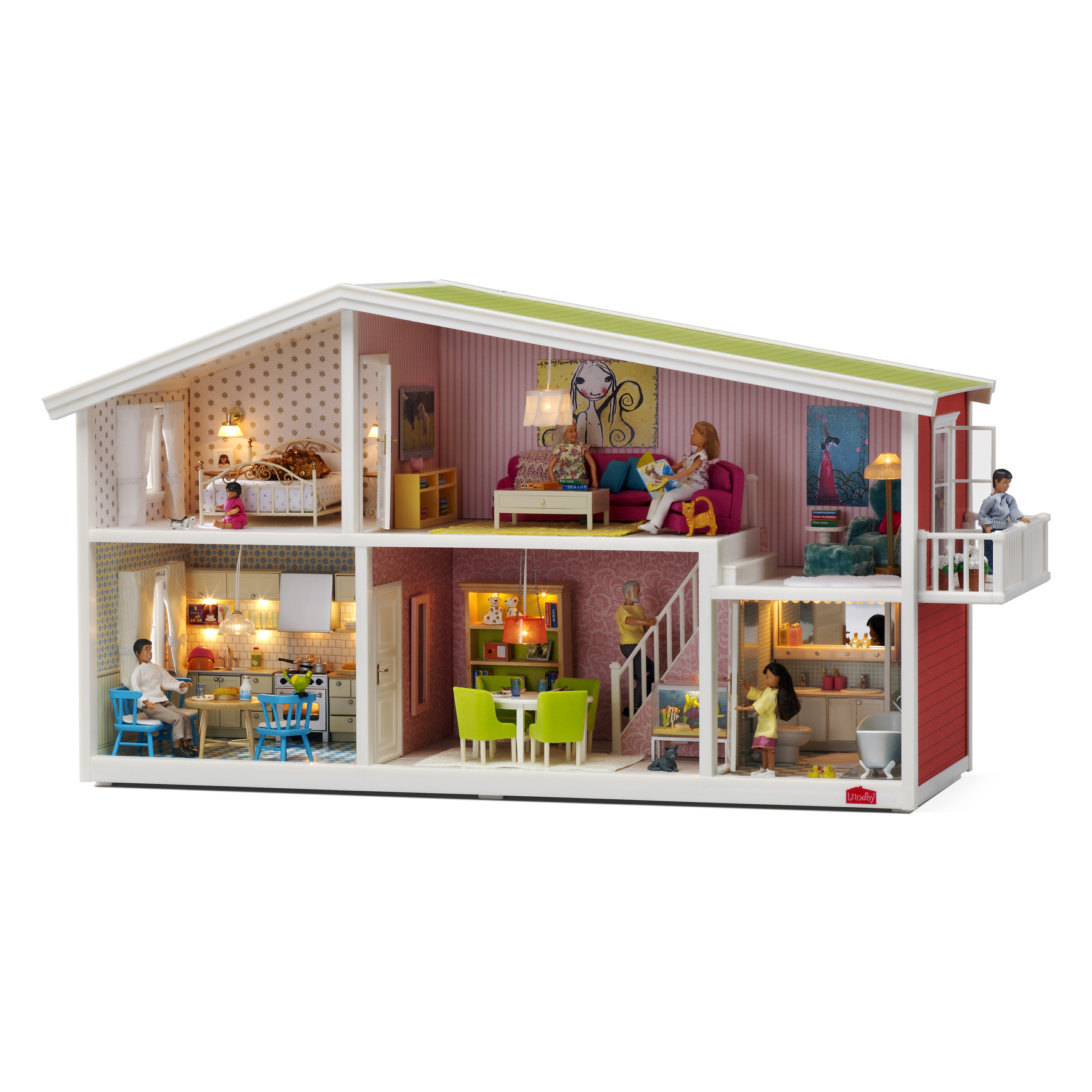 Modern Doll Houses Auto Electrical Wiring Diagram For Dolls House
