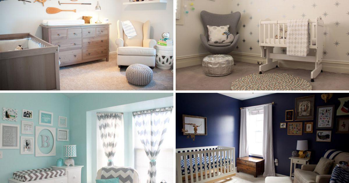 8 belles chambres de bb garon  Loisirs  Dcoration intrieure  Mamanpourlaviecom