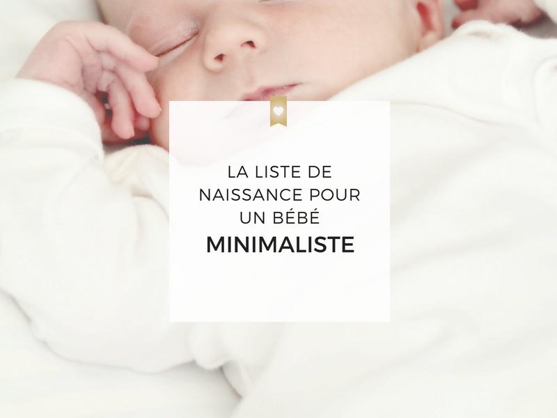 liste achat vetement bebe naissance