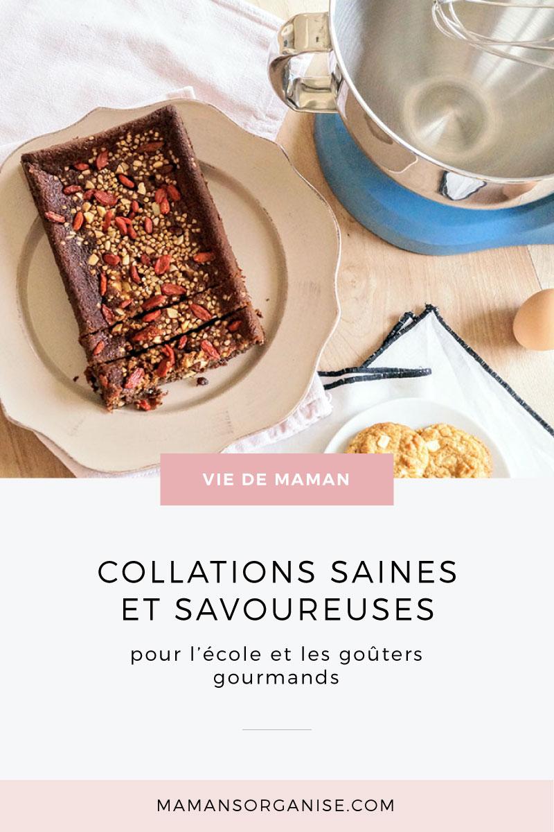 Découvrez 2 recettes de collations saines (ou presque) et savoureuses pour la cour de récré et les gouters gourmands en cliquant ici.