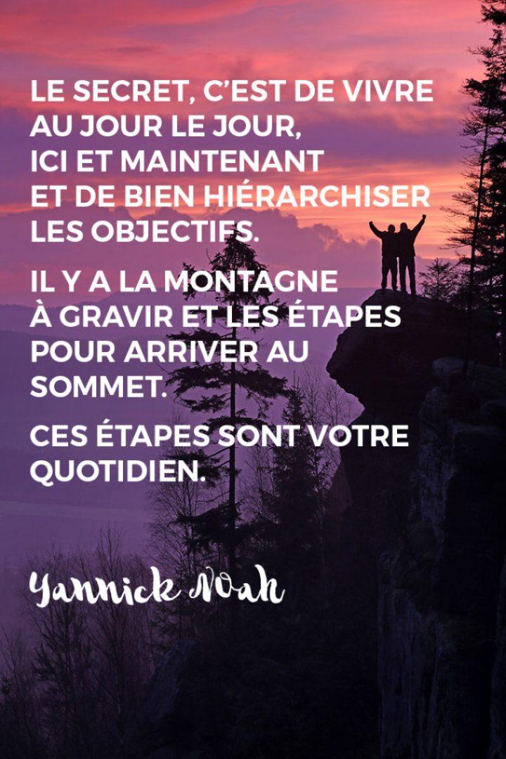 Citation de Yannick Noah
