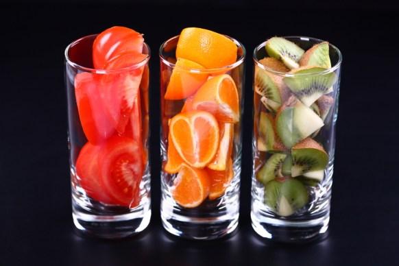 vitamines fruits AUTOBRONZANT