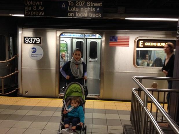 Le métro de New york : même pas peur !