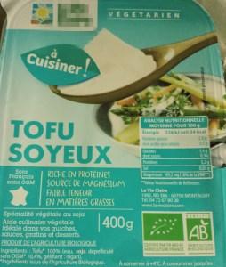 Tofu soyeux