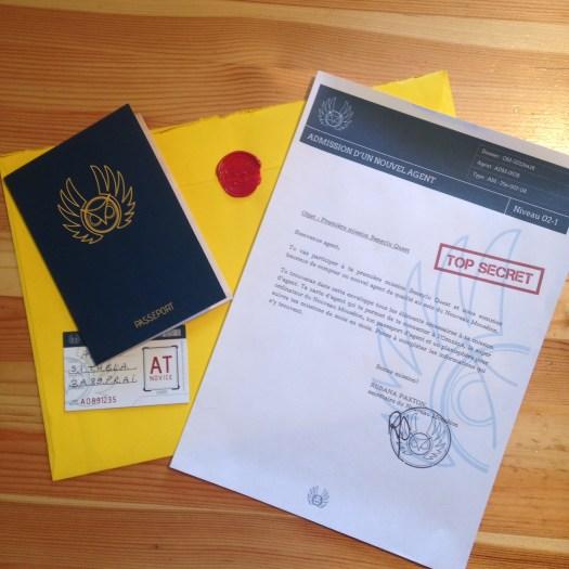 passeport agent secret