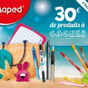 Gagnez votre kit de vacances avec Maped, chez les Mamans Qui Déchirent !