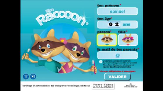 Mon Raccoon Elgydium