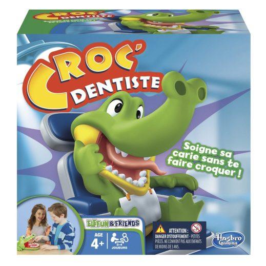 croco dentiste jeu 3 ans
