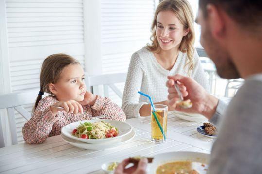 diner famille rentrée scolaire