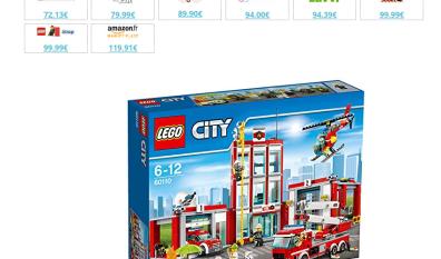 Briqueo trouve le meilleur prix des Lego en un clic !