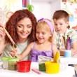 maîtresse maternelle petite section