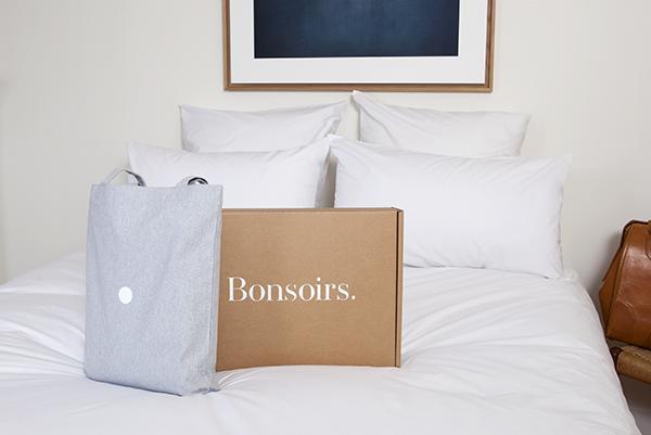 parure linge de lit Bonsoirs