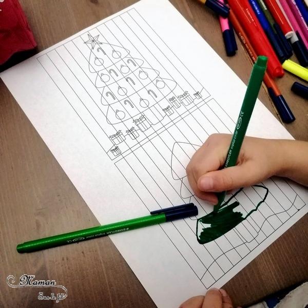Activité manuelle enfant - Illusion optique - Créer un agamographe, double tableau qui change selon la perspective, selon l'angle de vue - Portrait Fille - Garçon - Sapin de Noël - Hiver - Canette de Coca-cola de Fanta - Dessin, coloriage, découpage, collage, pliage, précision et patience - créative - Arts visuels primaire élémentaire - Collège - Cycles 2 3 et 4 - mslf