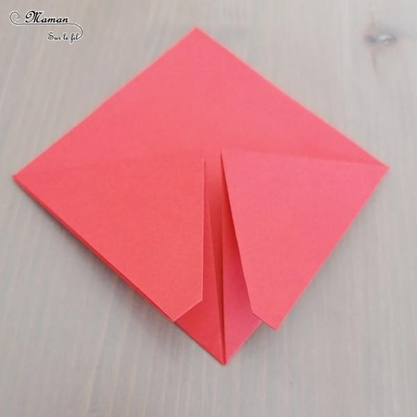 8Activité créative enfants - Nuée insectes en origami - Abeille, coccinelle et mobile suspension de papillons graphiques - Graphisme et Pliage de papier, bricolage, DIY - Printemps - Découverte de l'Asie et Japon - Tutoriel - Découverte d'un pays - Espace et géographie - arts visuels et atelier maternelle et Cycles 2 et 3 - mslf
