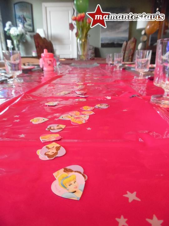décoration table anniversaire