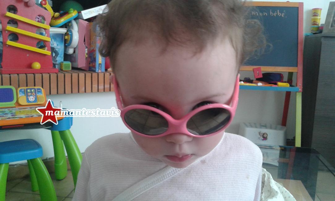 les lunettes de soleil pour enfant