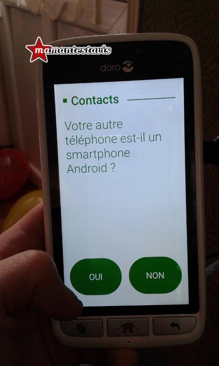 Avis smartphone Doro 8031
