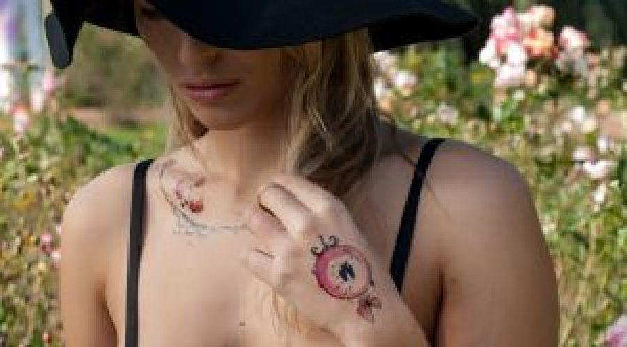 concours tatouages bijoux ephemeres Sioou